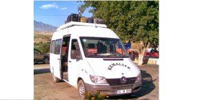 Kemaliye – Bağıştaş Minibüs Seferleri
